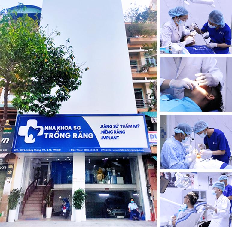 Nha Khoa Trồng Răng Sài Gòn quận 10 tphcm